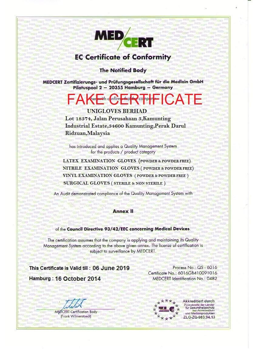how to fake certificates